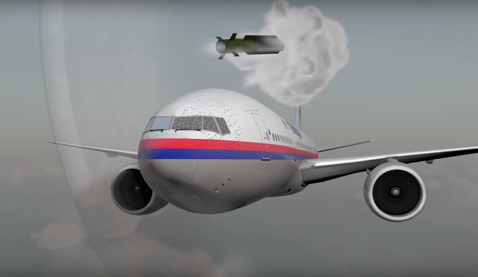 "As Russia lied about the downed Malaysian ""Boeing"""