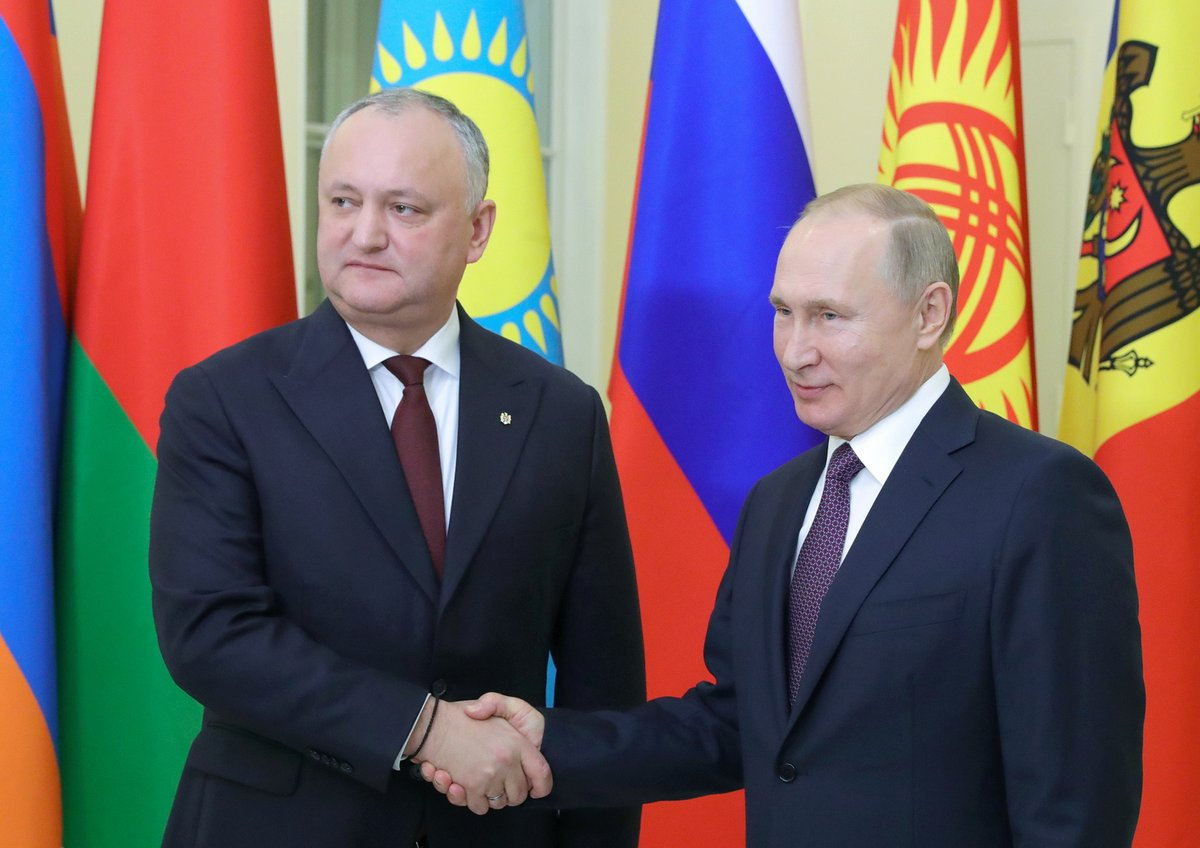 Has Russia failed to buy Moldova?